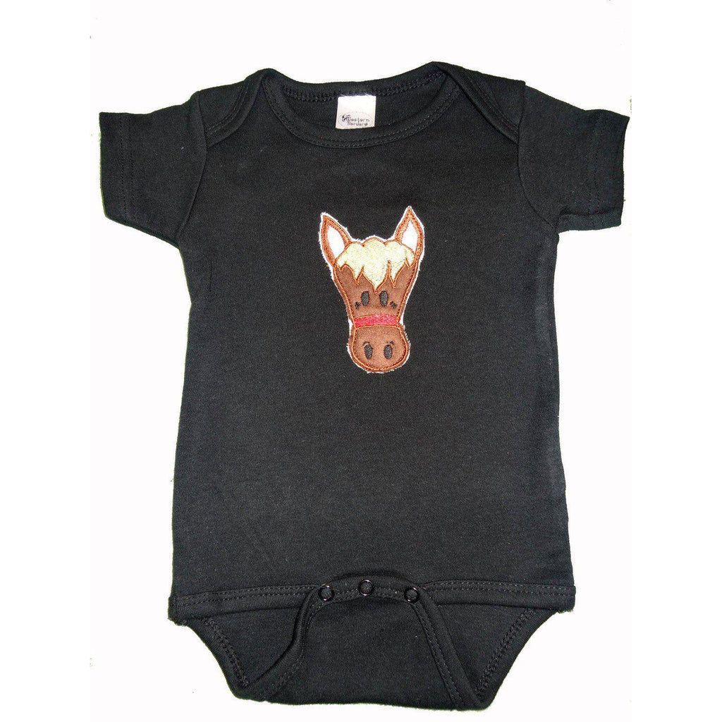 Western Border and Co. Boy Horse Onesie - West 20 Saddle Co.