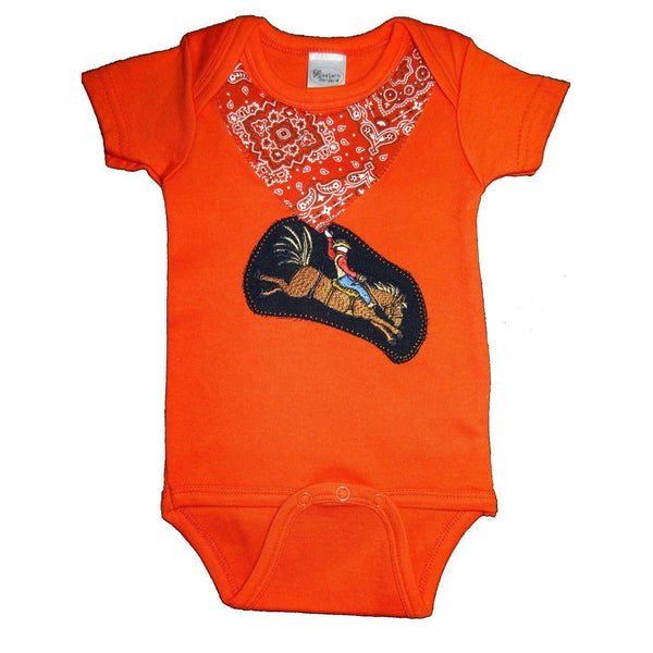 Western Border and Co. Boy Bronco Rider Onesie - West 20 Saddle Co.