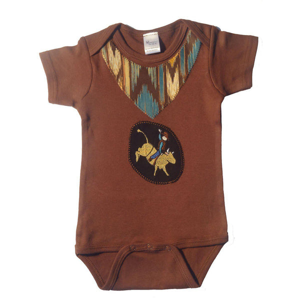 Western Border and Co. Boy Bull Rider Onesie - West 20 Saddle Co.