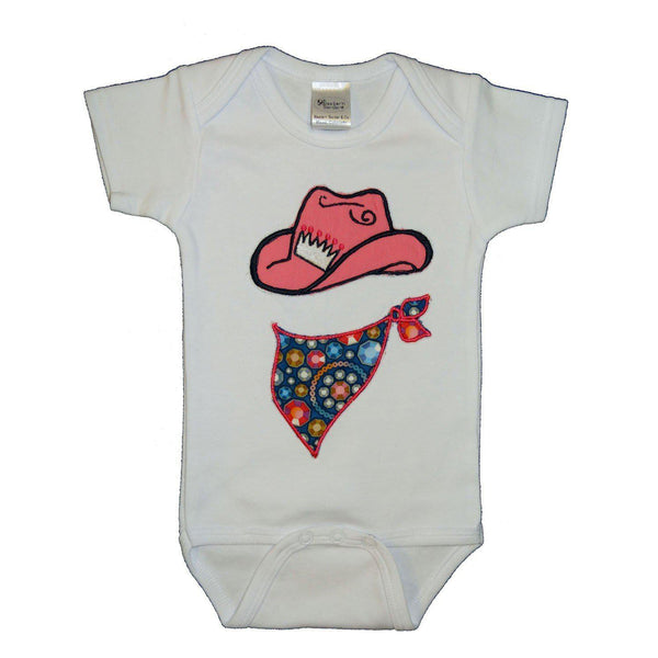 Western Border and Co. Cowgirl Sparkle Onesie
