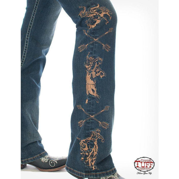 Cowgirl Tuff Wild Wild West Jeans - West 20 Saddle Co.