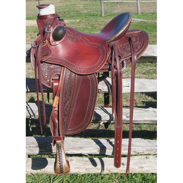 RW Bowman Mike Branch Wade Rancher Saddle - West 20 Saddle Co.