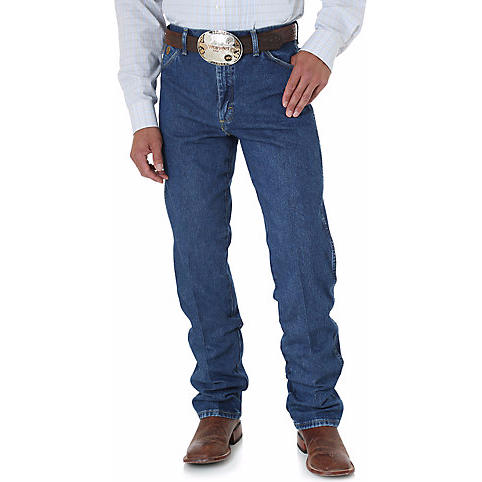 Wrangler Men's George Strait Cowboy Cut Original Fit Jean - West 20 Saddle Co.