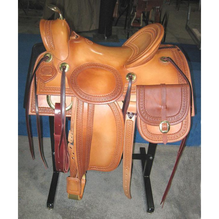 RW Bowman The Traveler Saddle - West 20 Saddle Co.