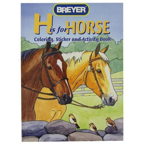 "Breyer ""H"" is for Horse Coloring Book"