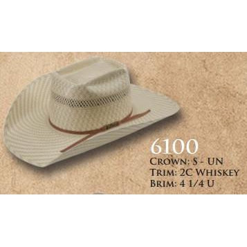 American Straw #6100 - West 20 Saddle Co.