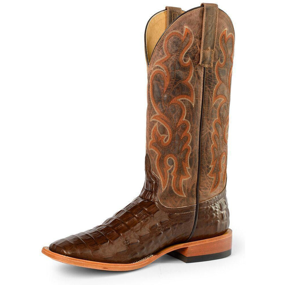 Horse Power by Anderson Bean Men's Nile Croc Western Boots