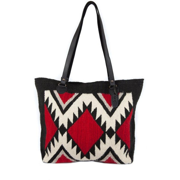 Jagged Diamonds Gloria Tote - West 20 Saddle Co.