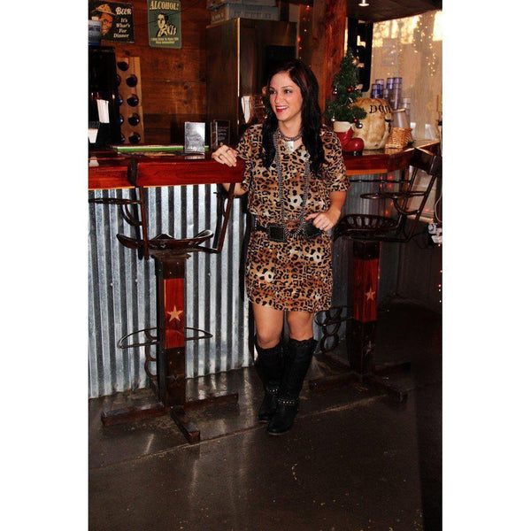 R Cinco Ranch Love Leopard Tunic - West 20 Saddle Co.