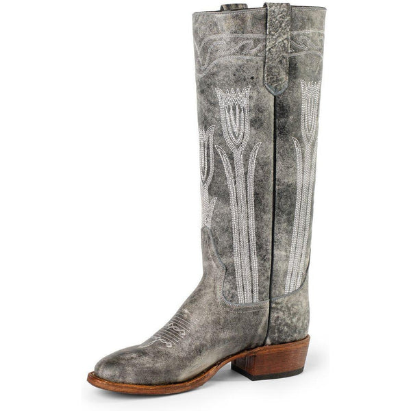 Macie Bean Tall Flower Petal Cowgirl Boot - West 20 Saddle Co.