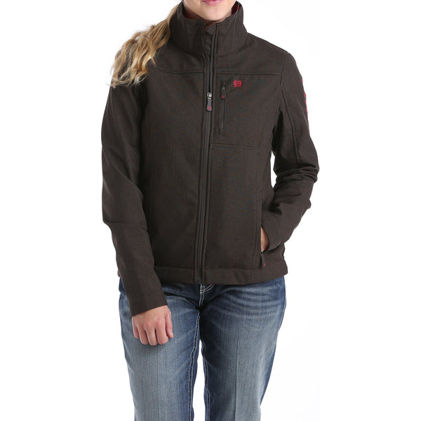 Cinch Womens Concealed Carry Bonded Jacket-Chocolate