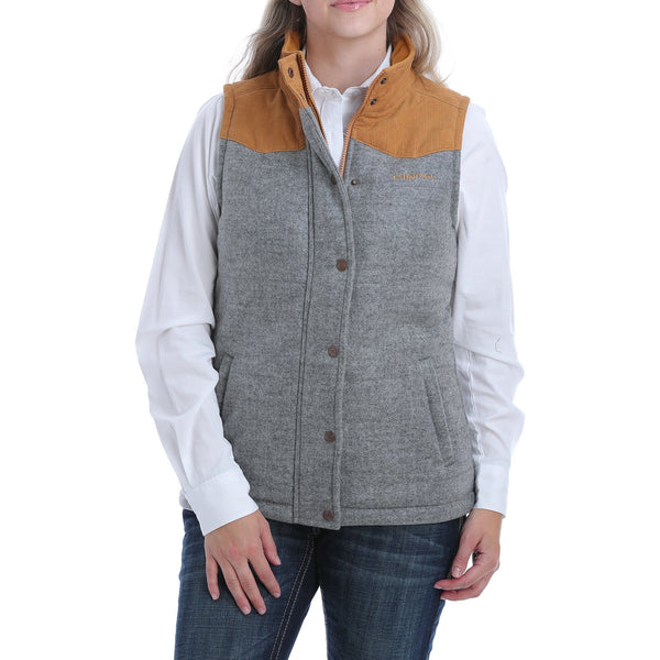 Cinch Women's Tweed Vest