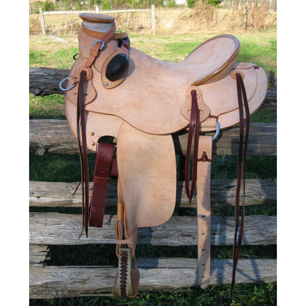 RW Bowman Mike Branch Rough Out Saddle - West 20 Saddle Co.