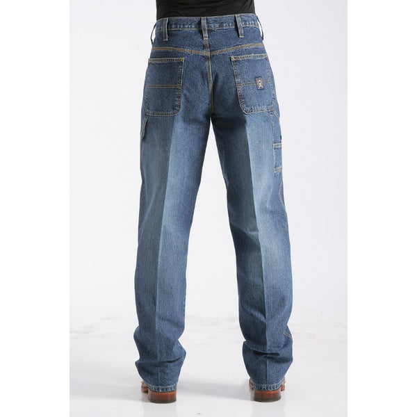 Cinch Men's Loose Fit Blue Label Jean-Medium Stonewash