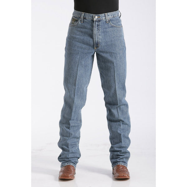 Cinch Men's Relaxed Fit Green Label Jean - Medium Stonewash - West 20 Saddle Co.