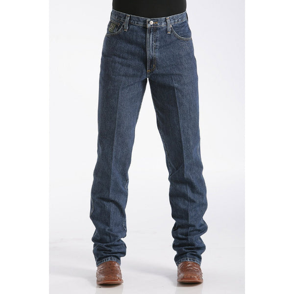 Cinch Men's Relaxed Fit Green Label - Dark Stonewash - West 20 Saddle Co.