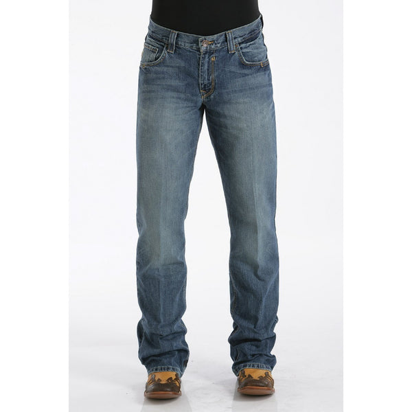 Cinch Men's Relaxed Fit Carter Jean - Medium Stonewash - West 20 Saddle Co.