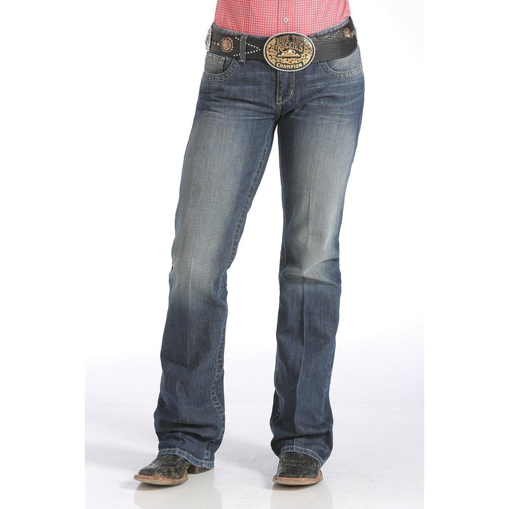 Cinch Women's ADA - Mid Rise, Relaxed, Boot Cut Jean - West 20 Saddle Co.