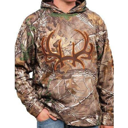 Cinch Men's Hoodie Pullover-Camouflage