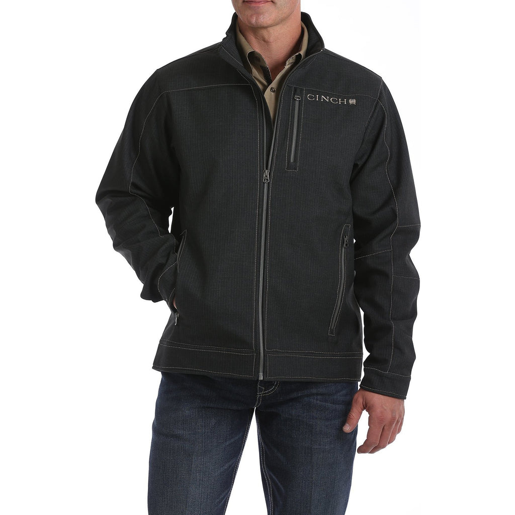 Cinch Mens Textured Bonded Jacket