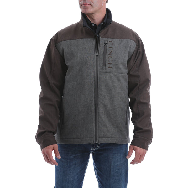 Cinch Men's Concealed Carry Bonded Jacket-Brown