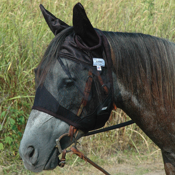 Cashel Quiet Ride Fly Mask- Standard with Ears