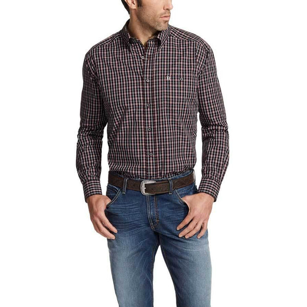 Relentless Red Long Sleeve Performance Shirt - West 20 Saddle Co.