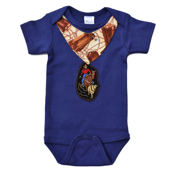 Western Border and Co. Cowboy Ropin Jesse Onesie