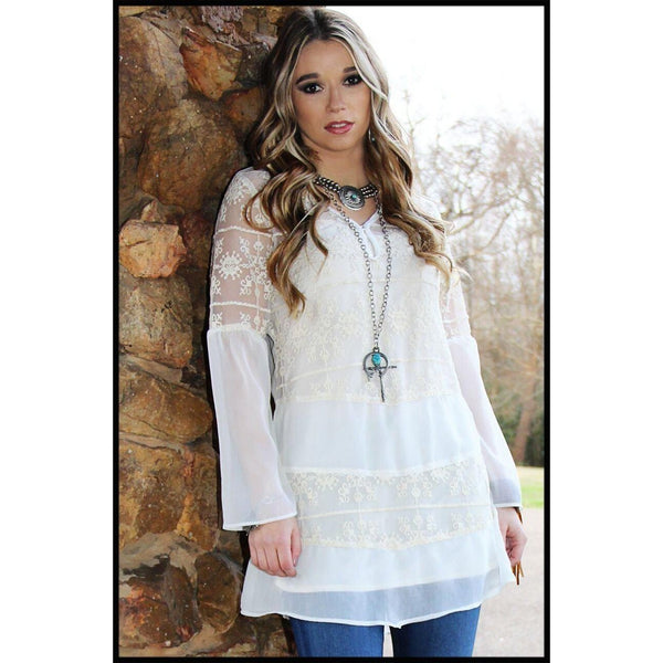 R Cinco Ranch Savannah Tunic - West 20 Saddle Co.