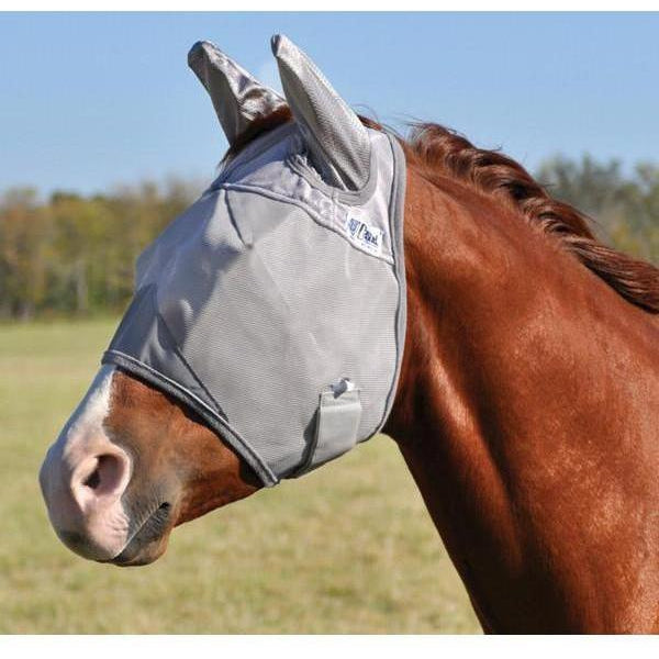 Cashel Crusader Fly Mask- Standard with Ears - West 20 Saddle Co.