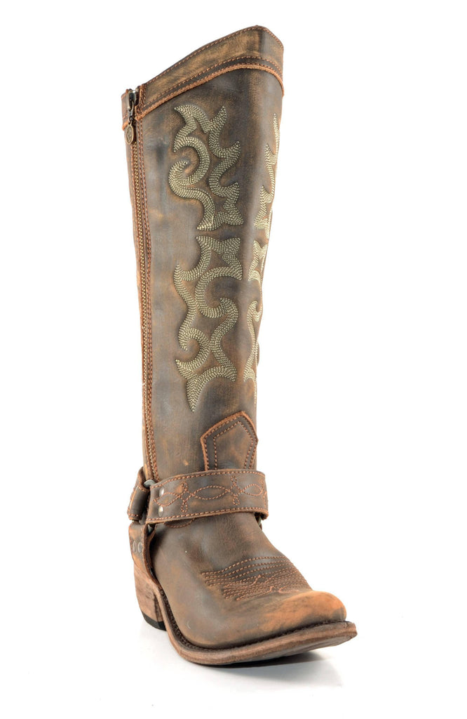 Liberty Black Boots Vintage Canela Tall Women's Boots - West 20 Saddle Co.