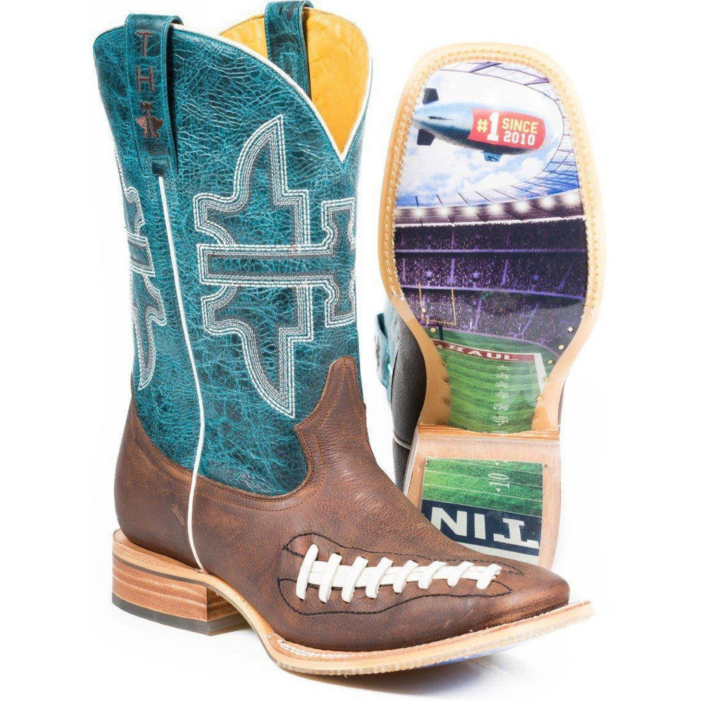 Tin Haul Football Stadium Men's Boot - West 20 Saddle Co.