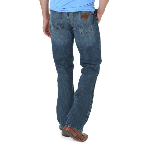 Men's Retro Slim Boot Jean