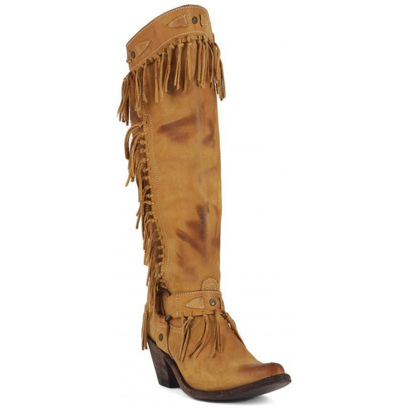 Old Gringo  Yippee Ki Yay Nikka Tan Women's Boots - West 20 Saddle Co.