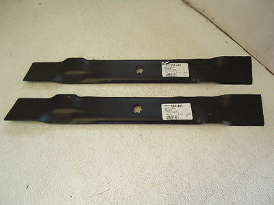 2 Mower Deck Blades for 42