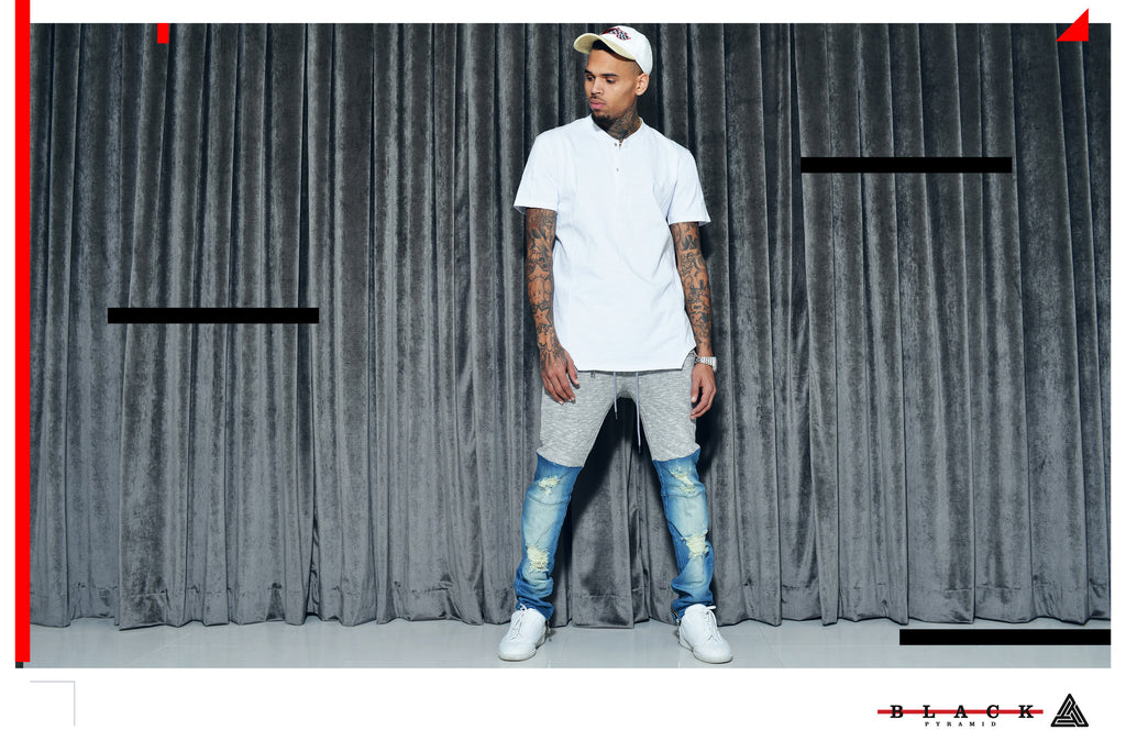 Introducing the New Black Pyramid Collection by Chris Brown