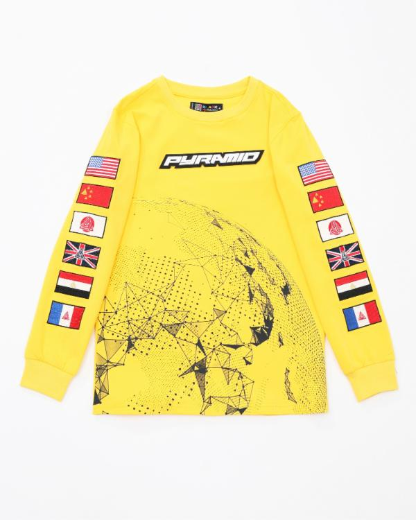 Kids Pyramid Worldwide LS Shirt