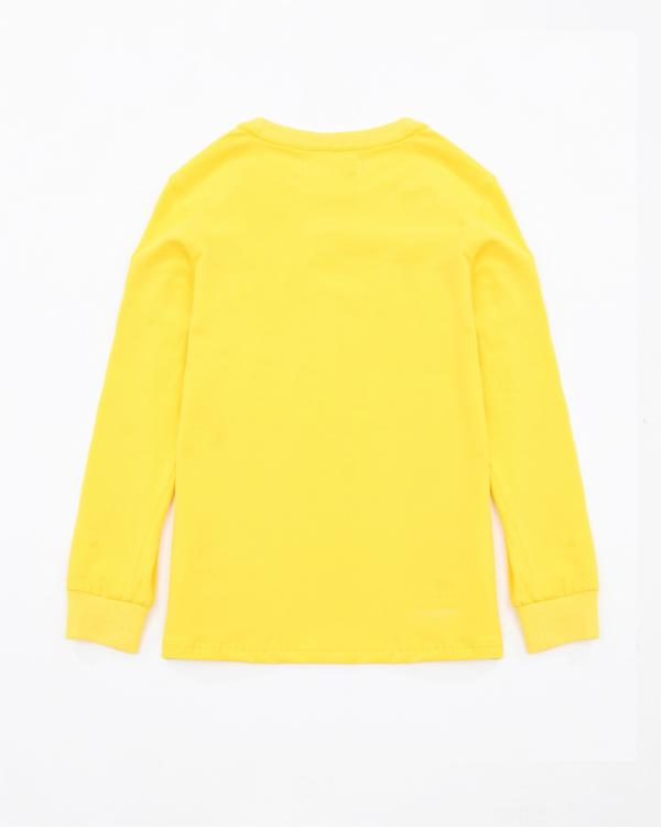 Kids Pyramid Worldwide LS Shirt - Color: Yellow
