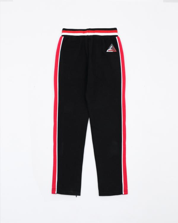Kids BP Rubber Patch Track Pant - Color: Black