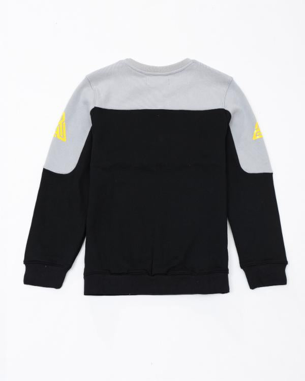 Kids Pyramid Jersey Crewneck - Color: Black