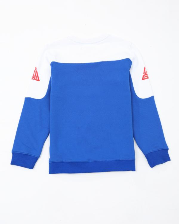 Kids Pyramid Jersey Crewneck - Color: Royal Blue