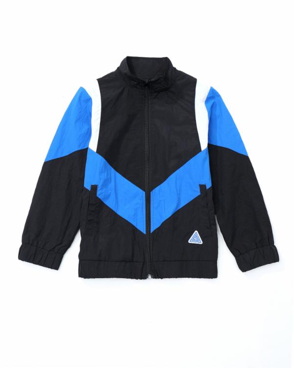 Kids Take Flight Track Jacket- Color: Blue