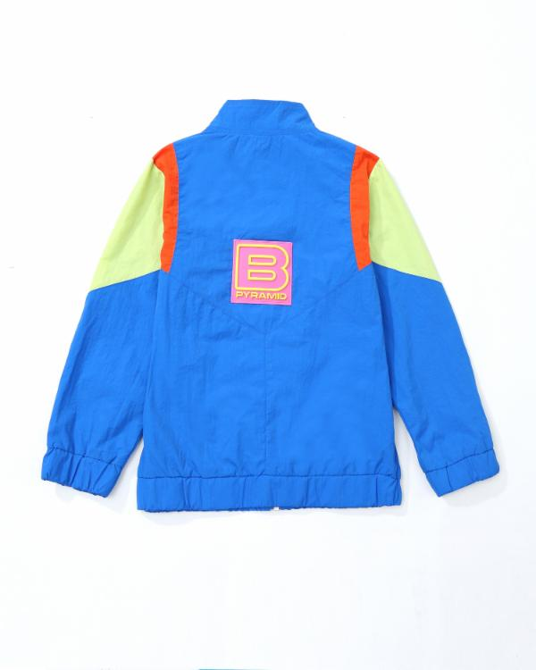 Kids Take Flight Track Jacket- Color: Green