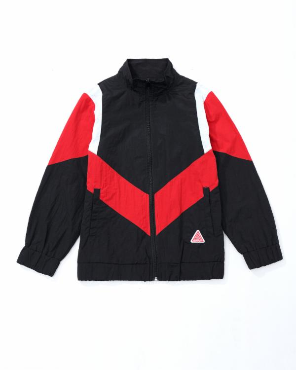 Kids Take Flight Track Jacket- Color: Red