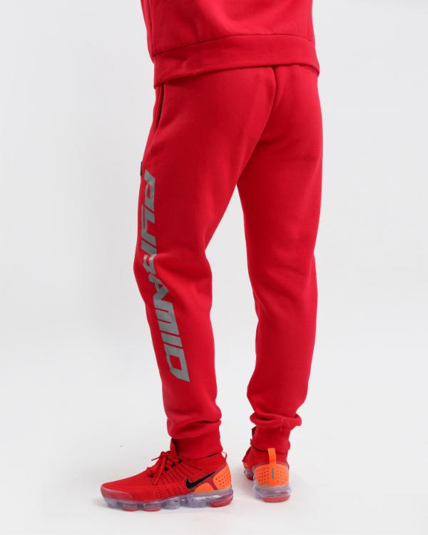 PYRAMID REFLECTIVE PANT-COLOR: RED