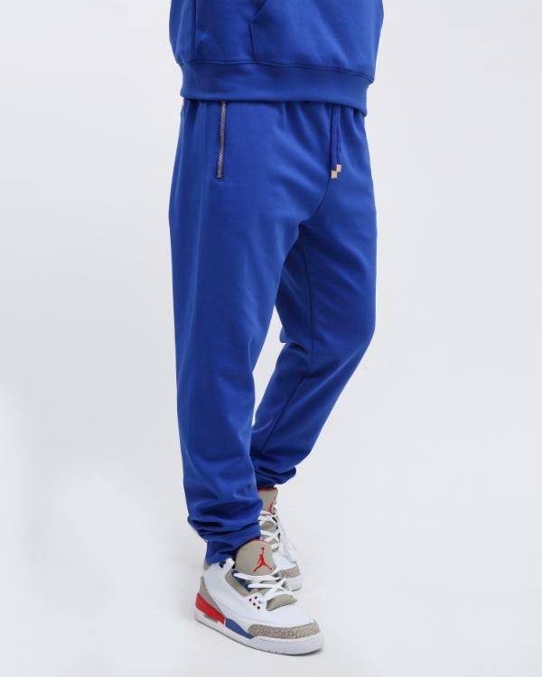 EMBOSSED LOGO JOGGER-COLOR: NAVY