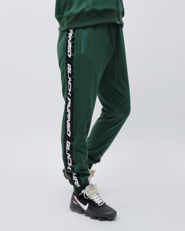 SPEED STRIPE LOGO JOGGER-COLOR: GREEN