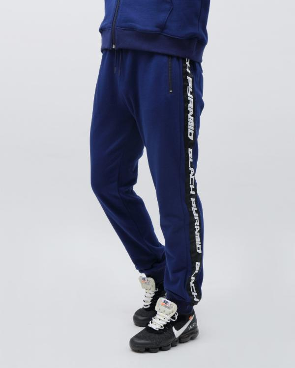 SPEED STRIPE LOGO JOGGER-COLOR: NAVY