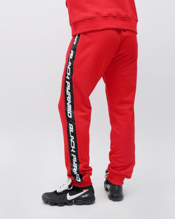 SPEED STRIPE LOGO JOGGER-COLOR: RED