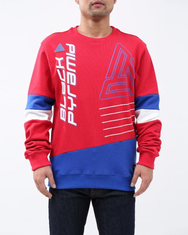 BP RETRO FUTURE CREW-COLOR: RED